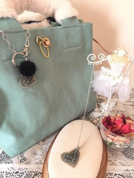 ❀Heart Bag Charm & Pendant❀_c0368764_16362234.jpg