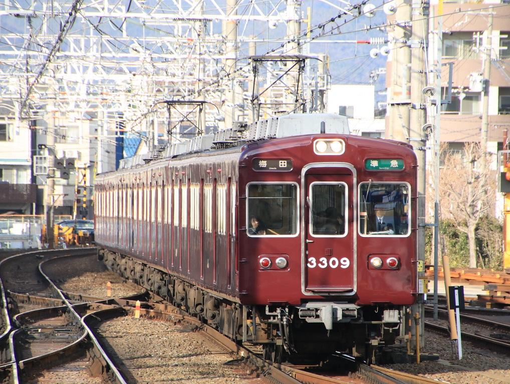 阪急3300系 3309F_d0202264_1821569.jpg