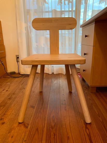 思い付きで椅子製作 彼の初デザイン_f0053665_13150545.jpg