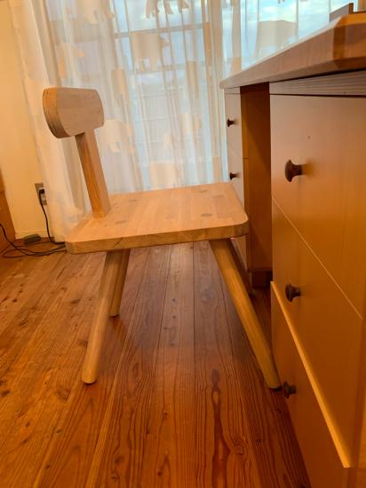 思い付きで椅子製作 彼の初デザイン_f0053665_13150895.jpg
