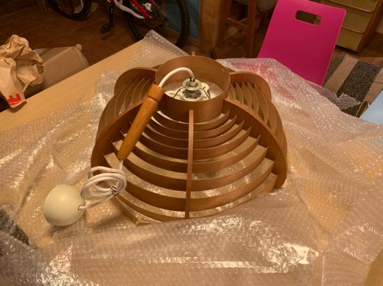 ヤコブセンランプ名作 JAKOBSSON LAMP 照明器具 修理 26_f0053665_15313514.jpg