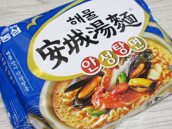 【農心】海鮮安城湯麺_c0152767_22065014.jpg