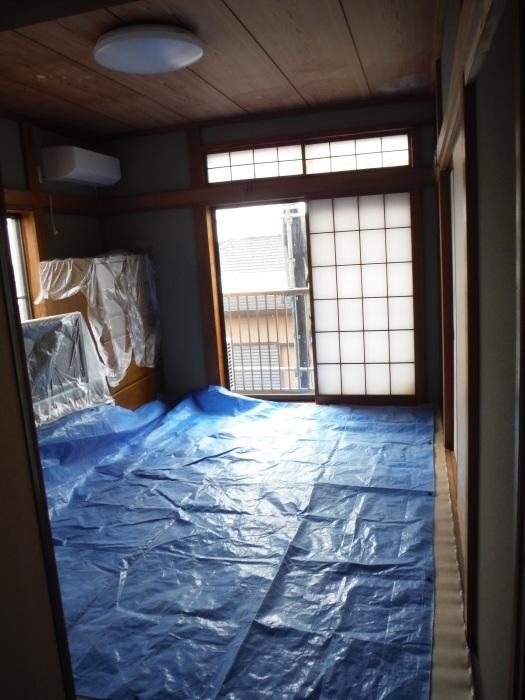 屋根、天井、カーポート ~ 窓格子と天井工事。_d0165368_05494689.jpg