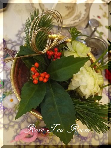 癒し空間! お正月のお迎え~♪_a0159974_974639.jpg