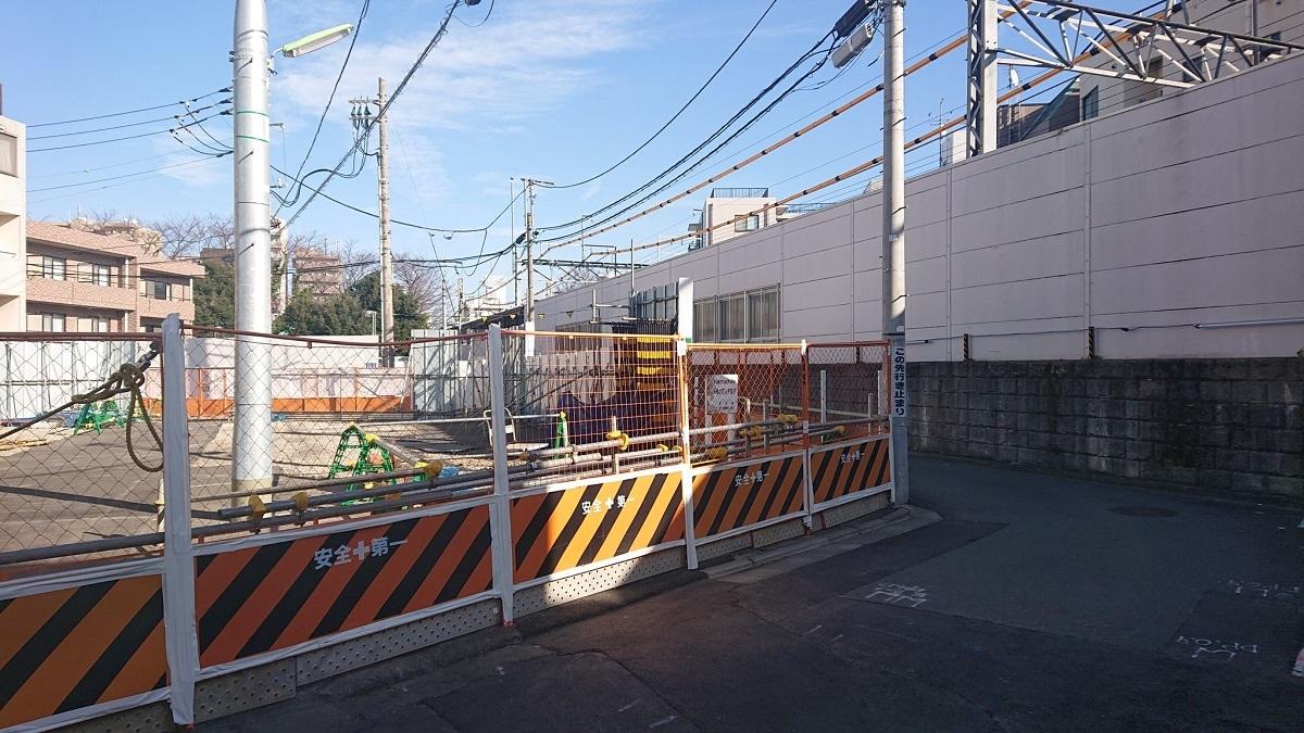 [京王線高架化]代田橋駅付近の状況 2019.12_a0332275_00404587.jpg