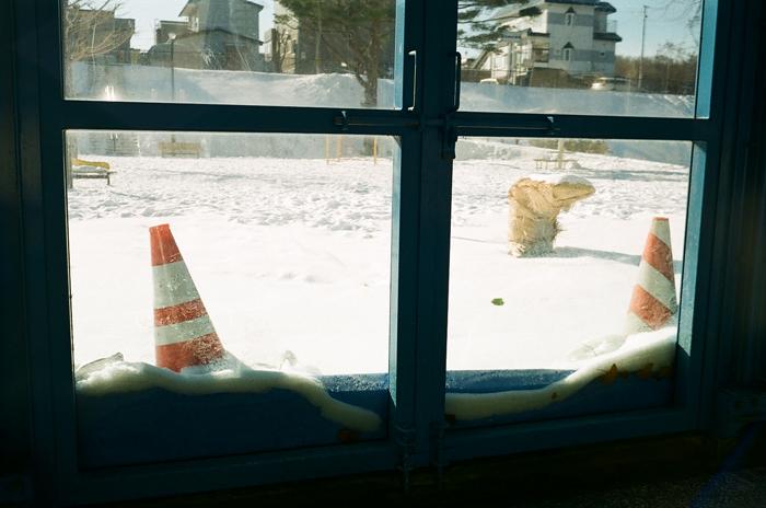 わらび隧道とアクリル壁の積雪_c0182775_1643925.jpg