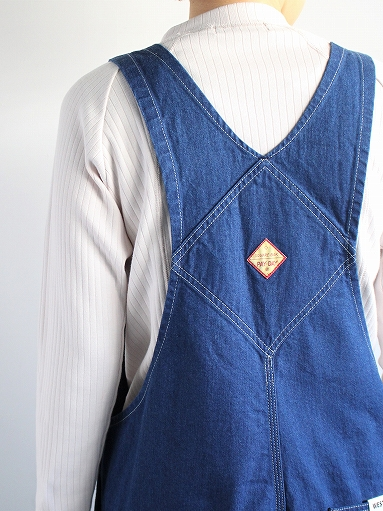 PAYDAY × WEST\'S OVERALL / INDIGO (LADIES SELECT)_b0139281_11372275.jpg
