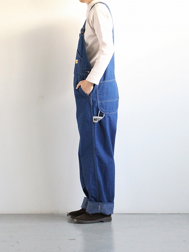 PAYDAY × WEST\'S OVERALL / INDIGO (LADIES SELECT)_b0139281_11375423.jpg