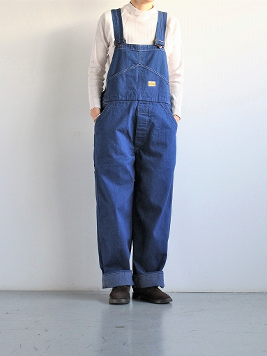 PAYDAY × WEST\'S OVERALL / INDIGO (LADIES SELECT)_b0139281_11383269.jpg