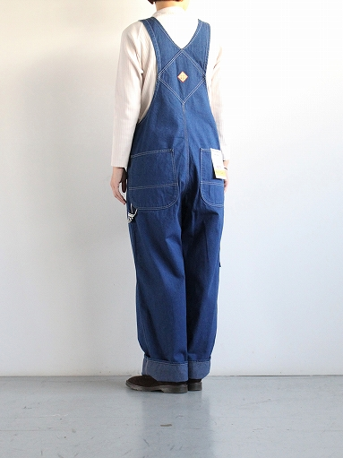 PAYDAY × WEST\'S OVERALL / INDIGO (LADIES SELECT)_b0139281_1138460.jpg