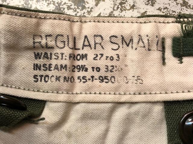1月15日(水)マグネッツ大阪店ヴィンテージ入荷!!#6 U.S.Army編! JerkinVest & ServiceBoots W/US Stencil、VietnamTCU、Mackinaw!!_c0078587_23253784.jpg