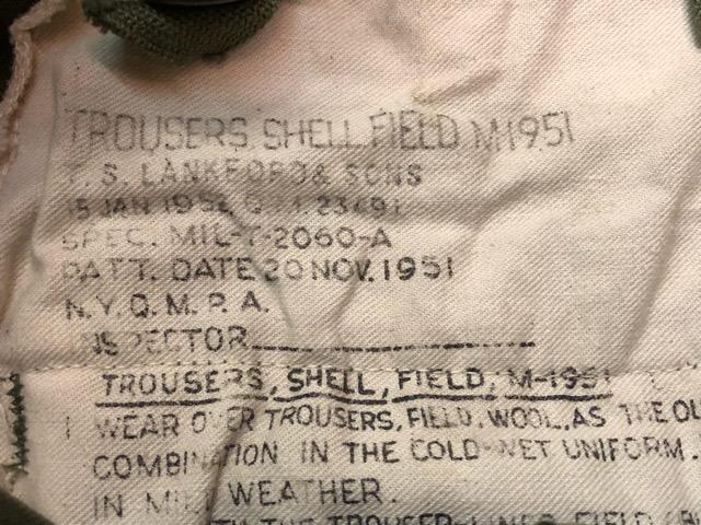 1月15日(水)マグネッツ大阪店ヴィンテージ入荷!!#6 U.S.Army編! JerkinVest & ServiceBoots W/US Stencil、VietnamTCU、Mackinaw!!_c0078587_23254534.jpg