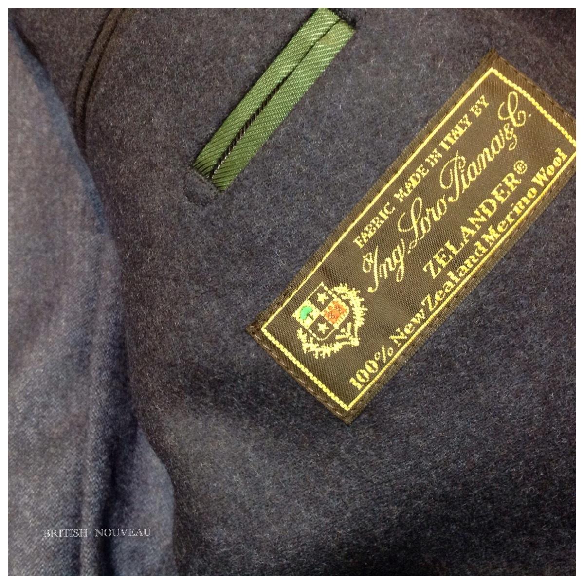 程良ぃ navy blue  wool stretch  jacket  わ last one (^○^)_f0039487_19215826.jpg