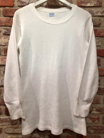 "1950s "" SEARS ROEBUCK AND CO. \"" ALL cotton HONEY-WAFFLE L/S THERMAL WEAR ※1月休業日のお知らせ ._d0172088_17120097.jpg"