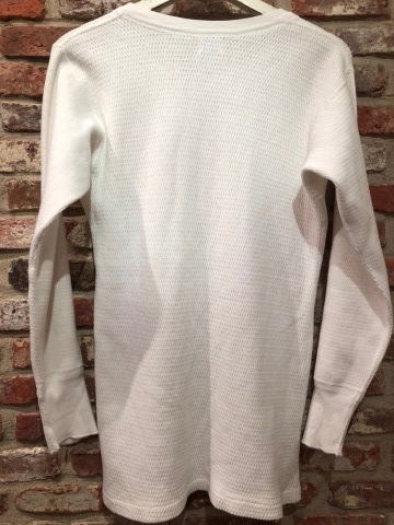 "1950s "" SEARS ROEBUCK AND CO. \"" ALL cotton HONEY-WAFFLE L/S THERMAL WEAR ※1月休業日のお知らせ ._d0172088_17131378.jpg"