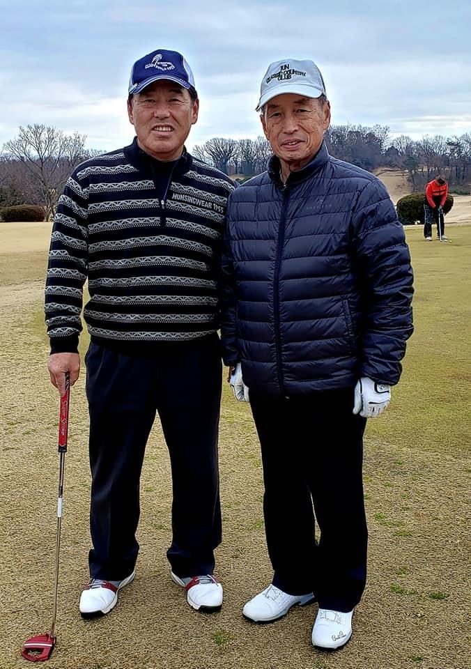 誰が何と言おうと尊敬し応援している、元航空幕僚長田母神俊雄先生とゴルフ交流。_c0186691_13372442.jpg