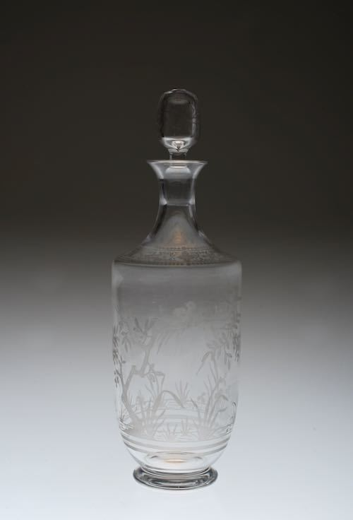 Baccarat Japonesque Acid Etching Decanter_c0108595_23414063.jpeg