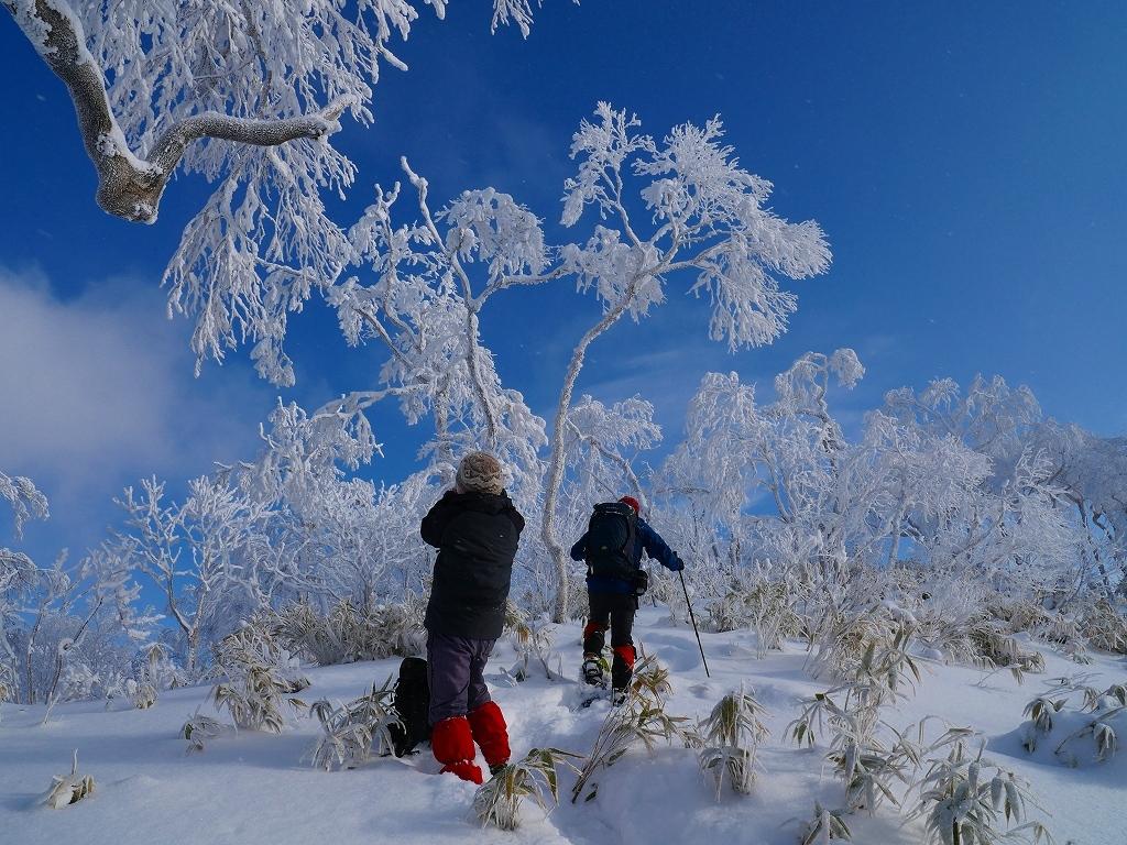 北白老岳と白老岳、2020.1.13ー速報版ー_f0138096_20122013.jpg