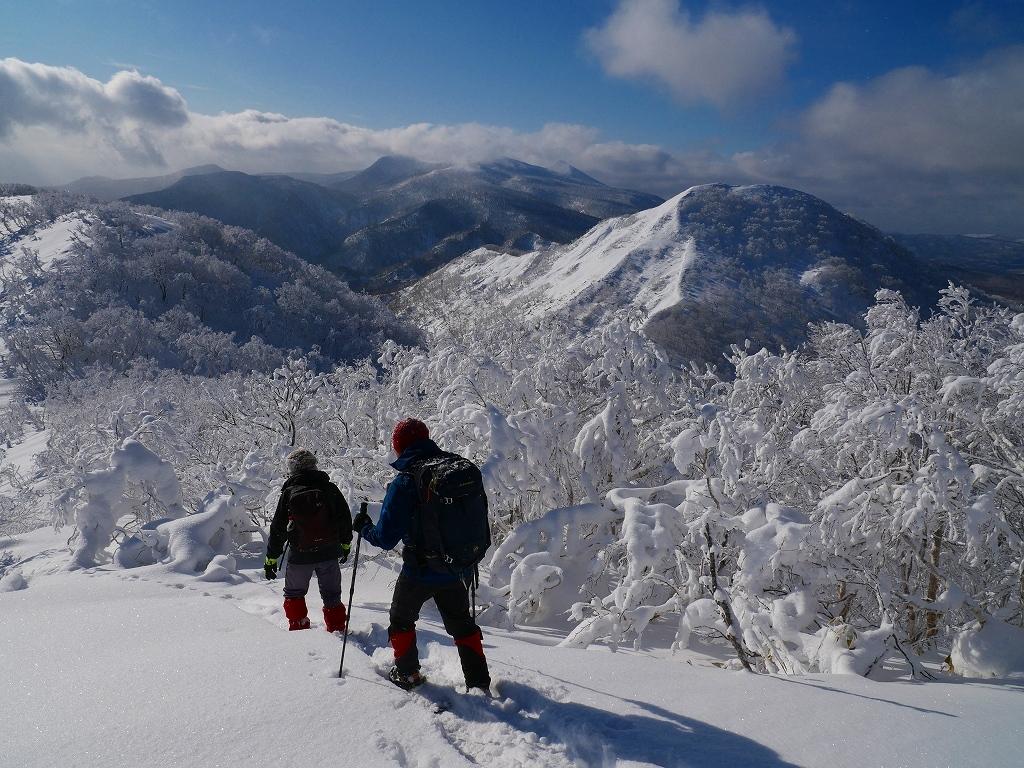 北白老岳と白老岳、2020.1.13ー速報版ー_f0138096_20122654.jpg