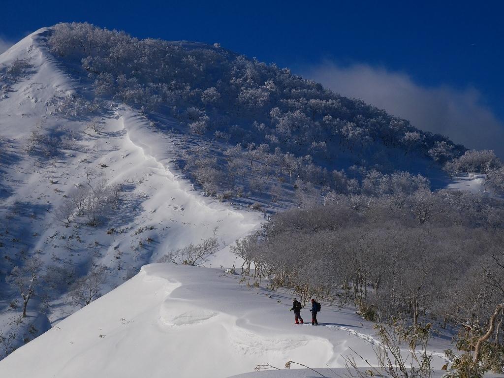 北白老岳と白老岳、2020.1.13ー速報版ー_f0138096_20123033.jpg