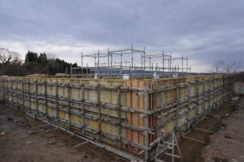 進捗状況「Vin de la bocchi farm & wineryワイナリー建設工事(建築工事)」_d0095305_18503267.jpg