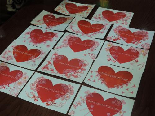 バレンタインカードを作りました 💕_f0223914_15153995.jpg