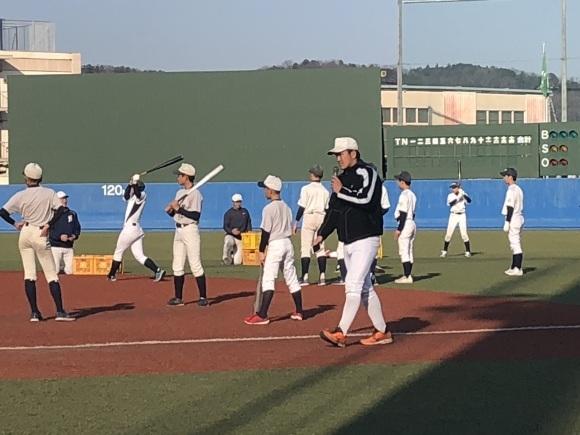 亜細亜大学野球教室_d0262619_00450873.jpg