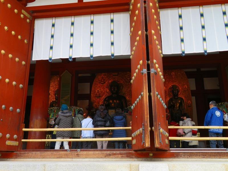 薬師寺の仏像20200112_e0237645_00092997.jpg