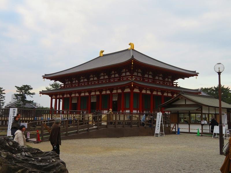 興福寺「中金堂完成」20200112_e0237645_09212673.jpg