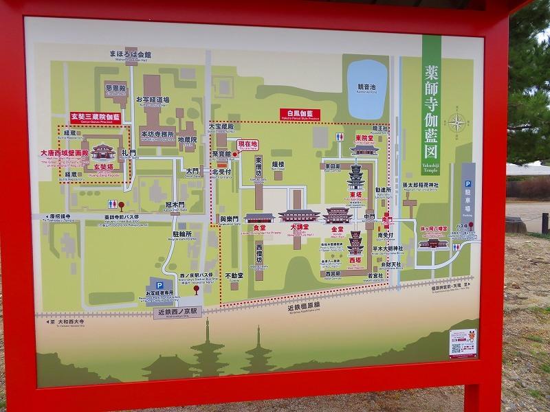 奈良「薬師寺の伽藍」20200112_e0237645_09424643.jpg