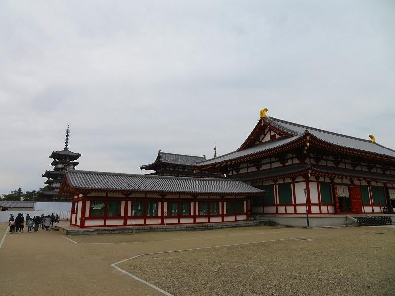 奈良「薬師寺の伽藍」20200112_e0237645_09424691.jpg