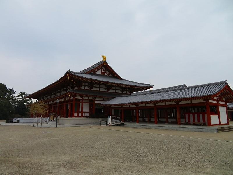 奈良「薬師寺の伽藍」20200112_e0237645_09424767.jpg