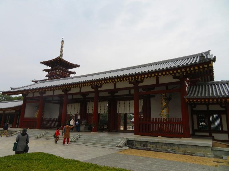 奈良「薬師寺の伽藍」20200112_e0237645_09434605.jpg