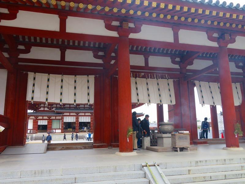 奈良「薬師寺の伽藍」20200112_e0237645_09434650.jpg