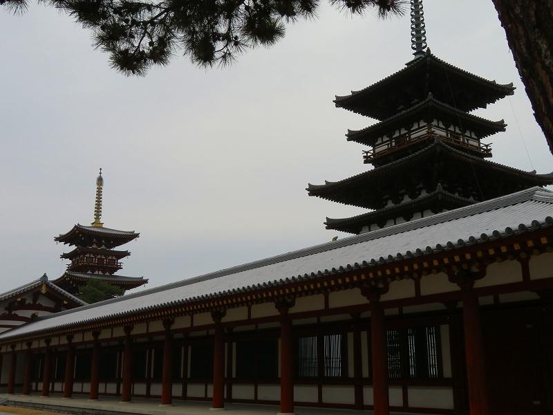 奈良「薬師寺の伽藍」20200112_e0237645_09434723.jpg