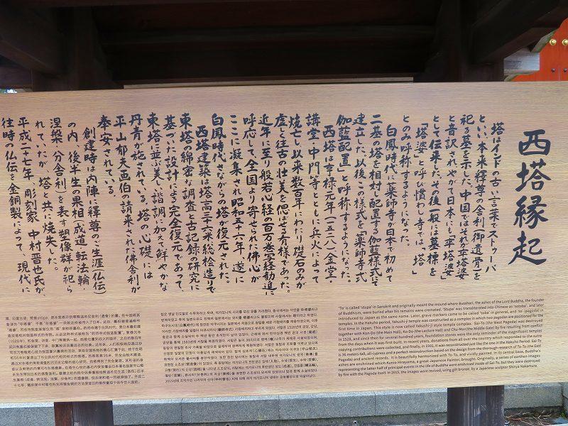 奈良「薬師寺の伽藍」20200112_e0237645_09454234.jpg