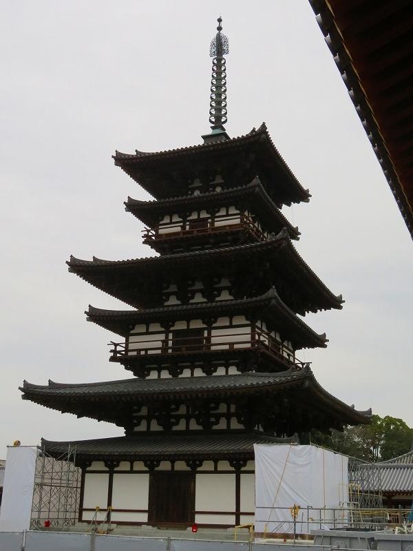 奈良「薬師寺の伽藍」20200112_e0237645_09454268.jpg