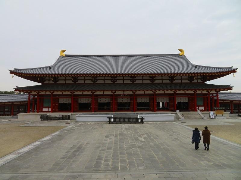 奈良「薬師寺の伽藍」20200112_e0237645_09454326.jpg