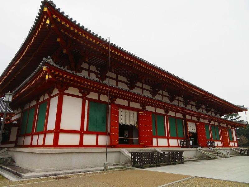 奈良「薬師寺の伽藍」20200112_e0237645_09454389.jpg