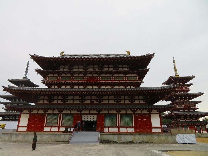 奈良「薬師寺の伽藍」20200112_e0237645_09465828.jpg