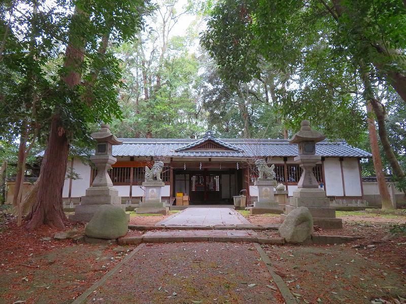 奈良西ノ京「養天満宮」20200112_e0237645_10093689.jpg