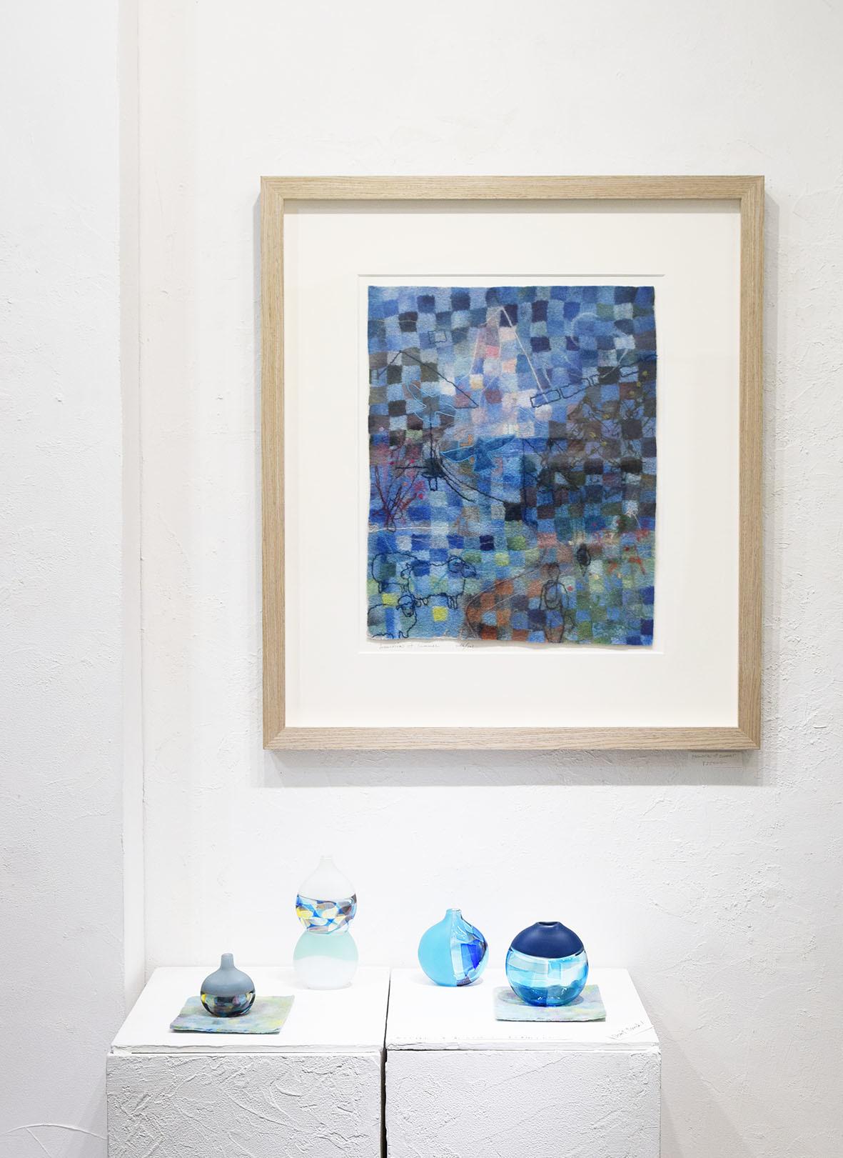 MOSAIC FELT Kokuga Rumi exhibition @ 5日目_e0272050_16565459.jpg