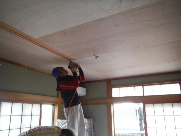 屋根、天井、カーポート ~ 工事終了です。_d0165368_07100824.jpg