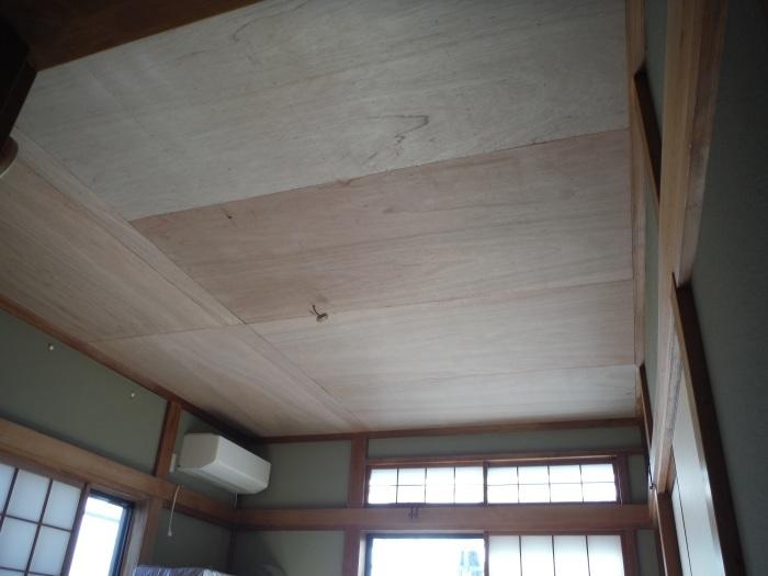 屋根、天井、カーポート ~ 工事終了です。_d0165368_07101790.jpg