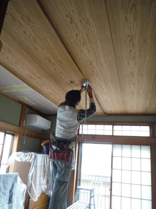 屋根、天井、カーポート ~ 工事終了です。_d0165368_07104321.jpg