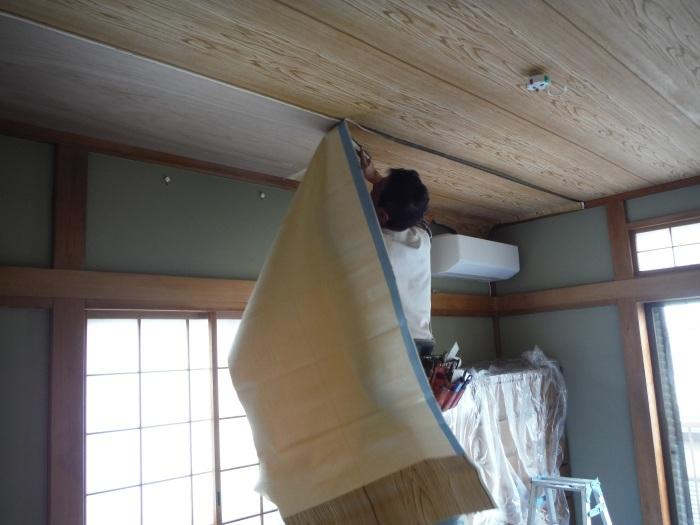 屋根、天井、カーポート ~ 工事終了です。_d0165368_07105289.jpg