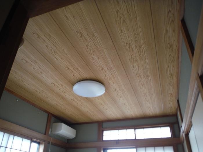 屋根、天井、カーポート ~ 工事終了です。_d0165368_07110967.jpg