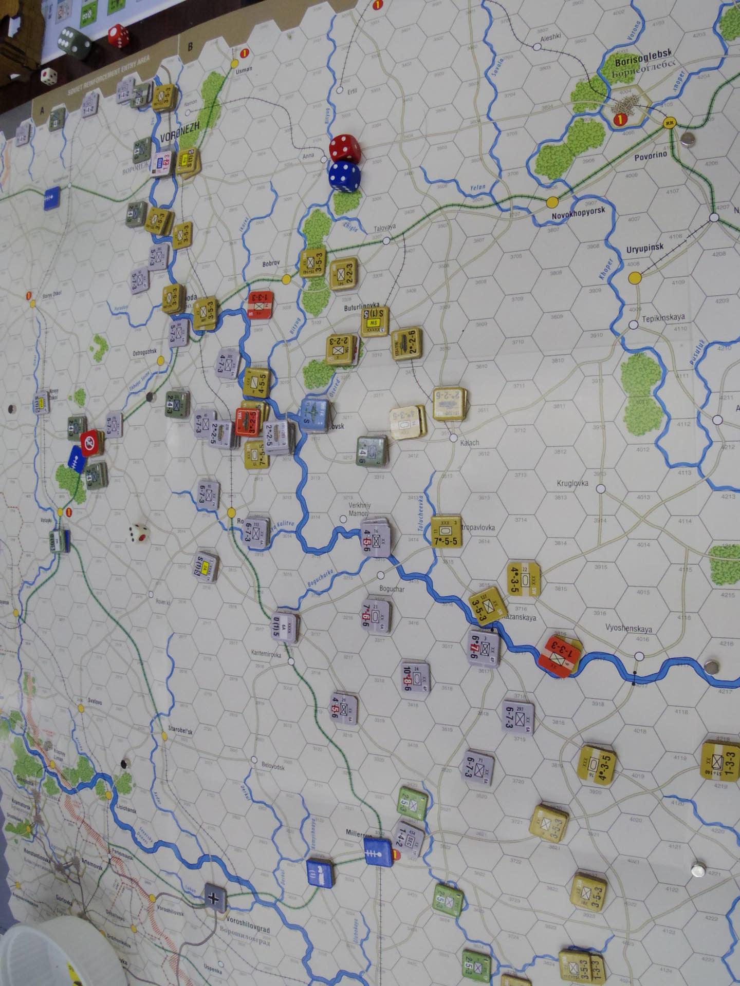 2020.01.11(土)YSGA新春初例会⑵初日...(GMT)Stalingrad\'42キャンペーン第1班の➊_b0173672_19340179.jpg
