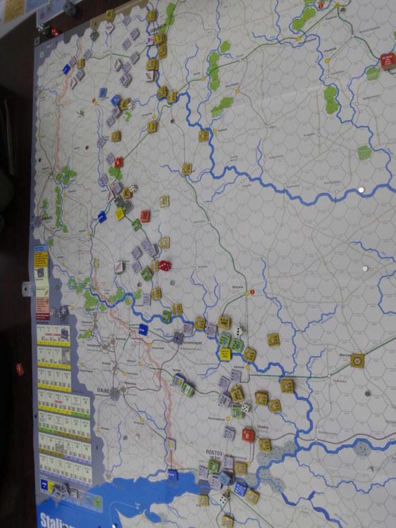 2020.01.11(土)YSGA新春初例会⑵初日...(GMT)Stalingrad\'42キャンペーン第1班の➊_b0173672_19340282.jpg