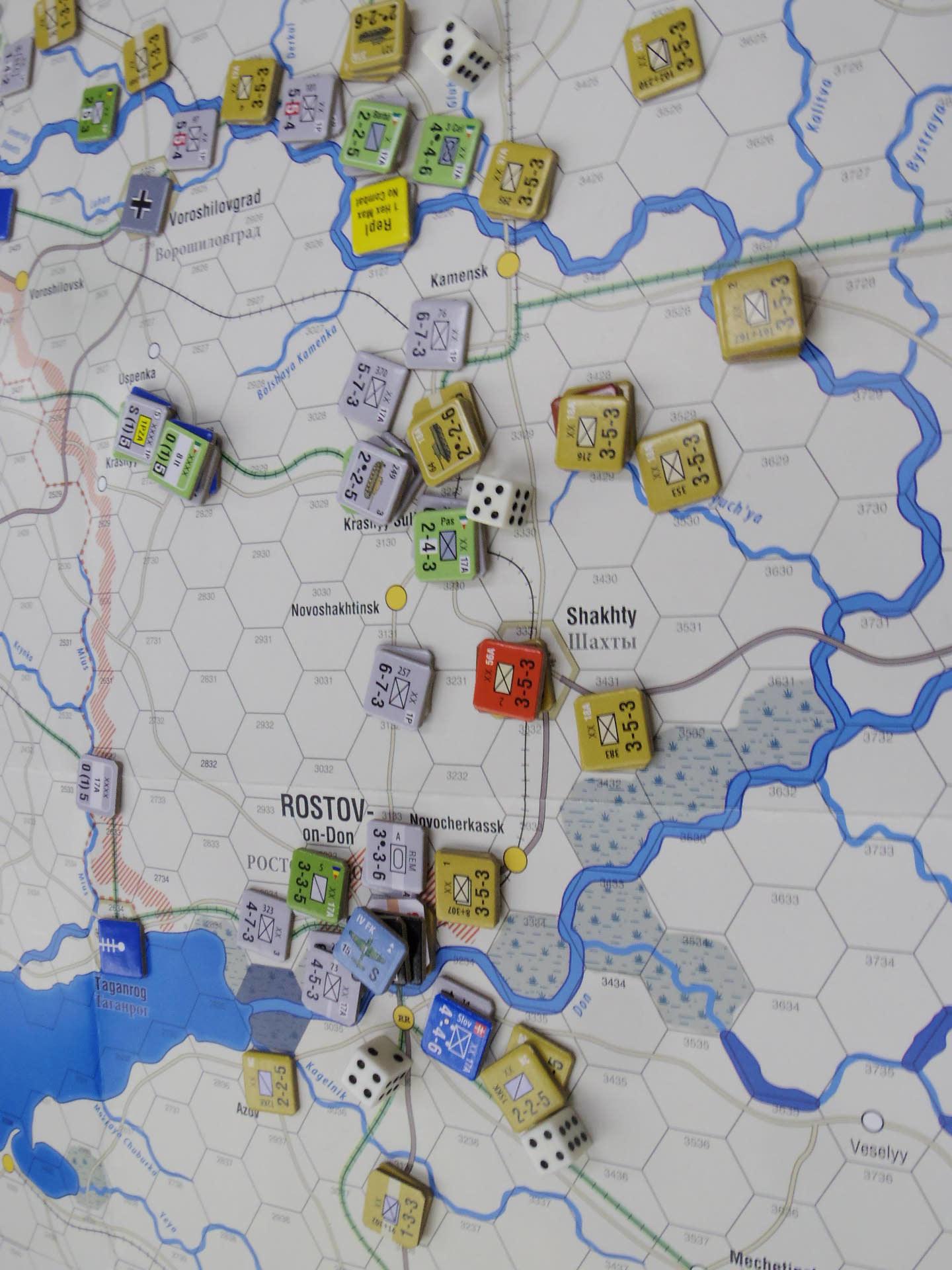 2020.01.11(土)YSGA新春初例会⑵初日...(GMT)Stalingrad\'42キャンペーン第1班の➊_b0173672_19340385.jpg